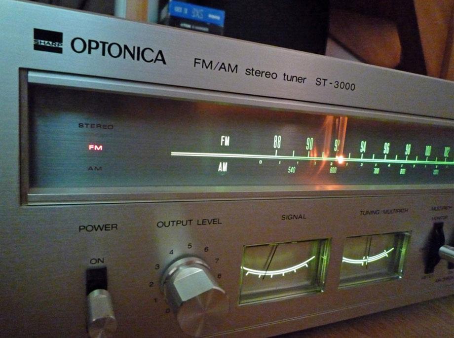Optonica Vintage Tuner