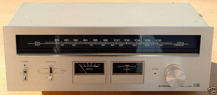 Pioneer Vintage Tuner