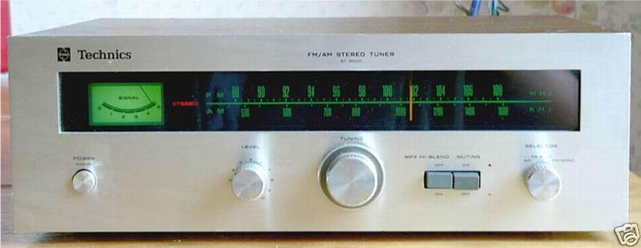 Technics Vintage Tuner